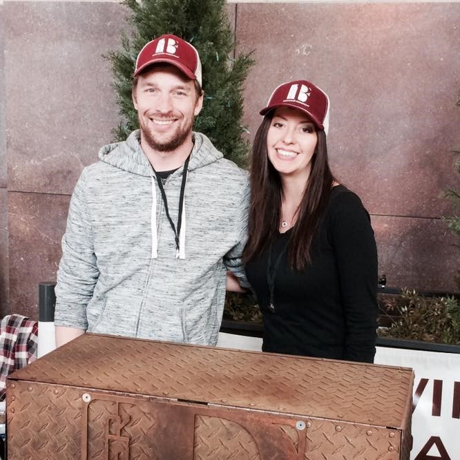 Border Brewing Co. owners Eric and Tracy Marten.
