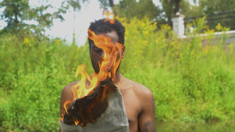 A still from Cami Thomas's short film, Tuko Sasa