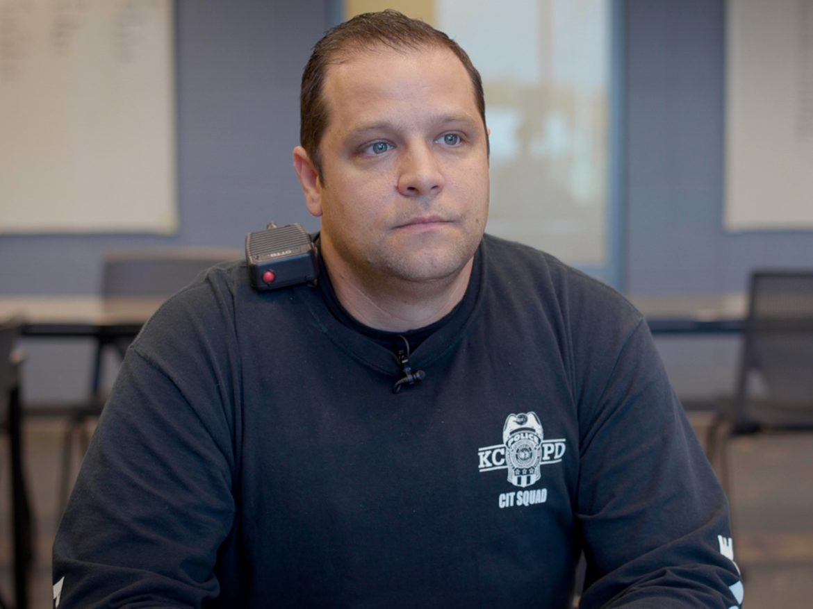 Officer Marc Canovi of the Kansas City Police Department