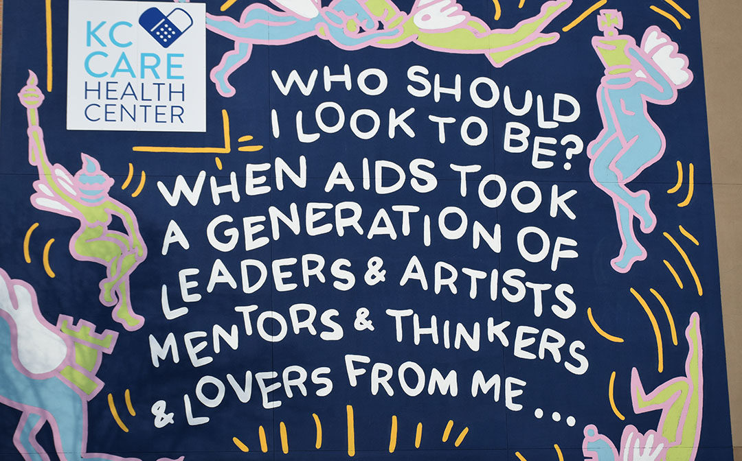 The 2020 World AIDS Day Mural