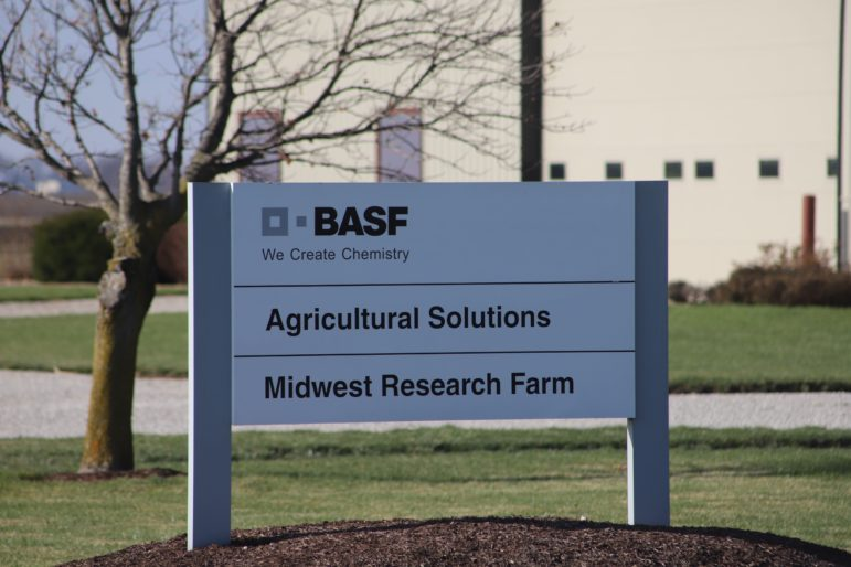 A BASF research farm