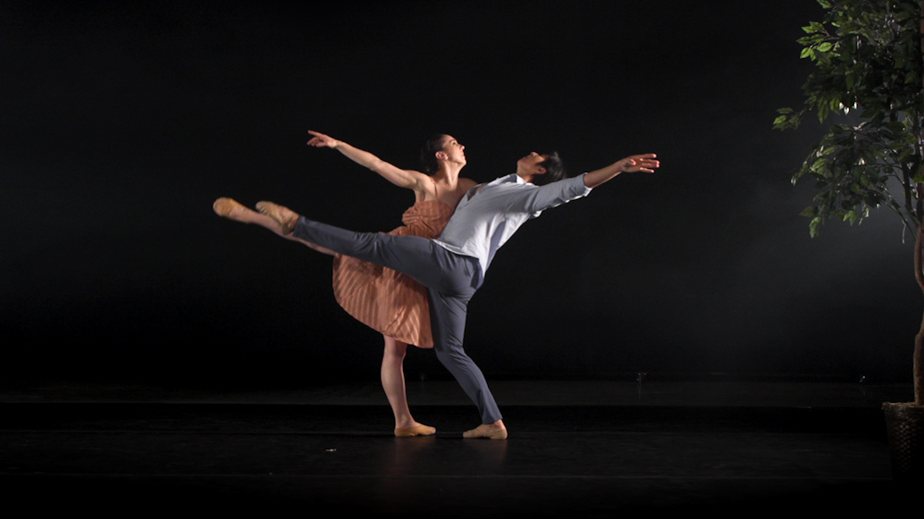 """Dancers with the Kansas City Ballet perform """"Look Here, Love"""" as part of """"KC Performs."""""""