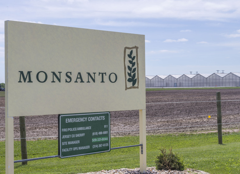 A Monsanto facility in Jerseyville, Illinois
