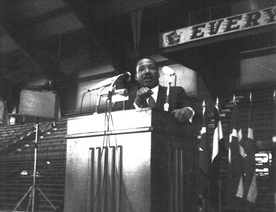 During his January 1968 speech at Kansas State University, Martin Luther King, Jr. continued to criticize the country's involvement in the Vietnam War.