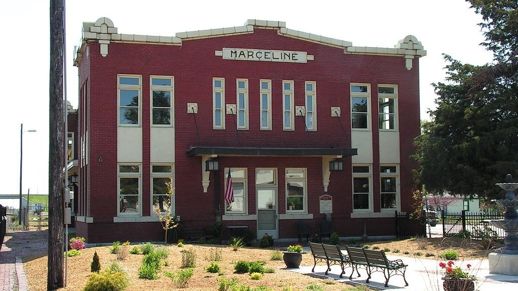 The Walt Disney Hometown Museum in Marceline, Missouri.