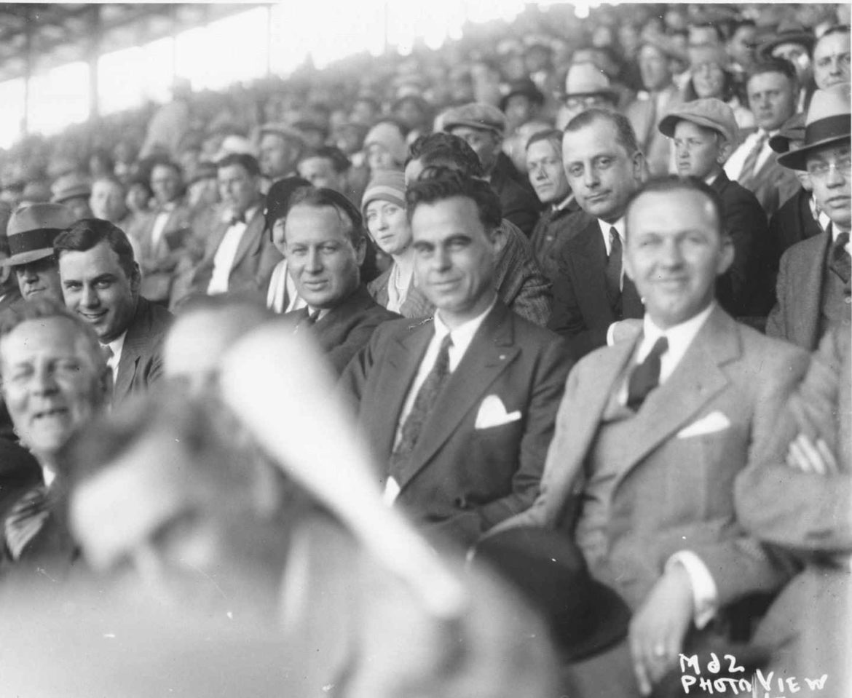 White fans attending a Kansas City Monarchs game