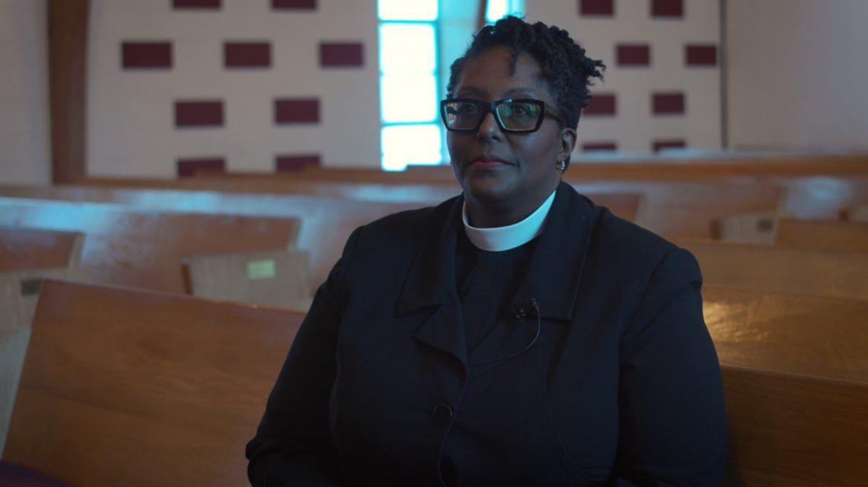 Rev. Dr. Karla Cooper at Allen Chapel AME Church