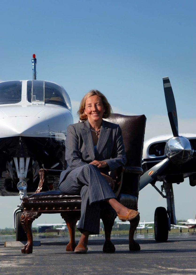 Michele Stauffer launched Kansas Aircraft Corp. in 1990.