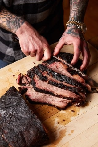 Fox and Pearl Chef Vaughn Good has been offering craft barbecue since December through his Night Goat pop-up.