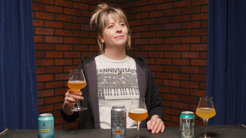Flatland beer enthusiast Cassie Niemeyer taste tests three non-alcoholic craft beers.