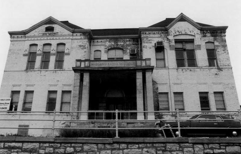 The Webster School building in 1981