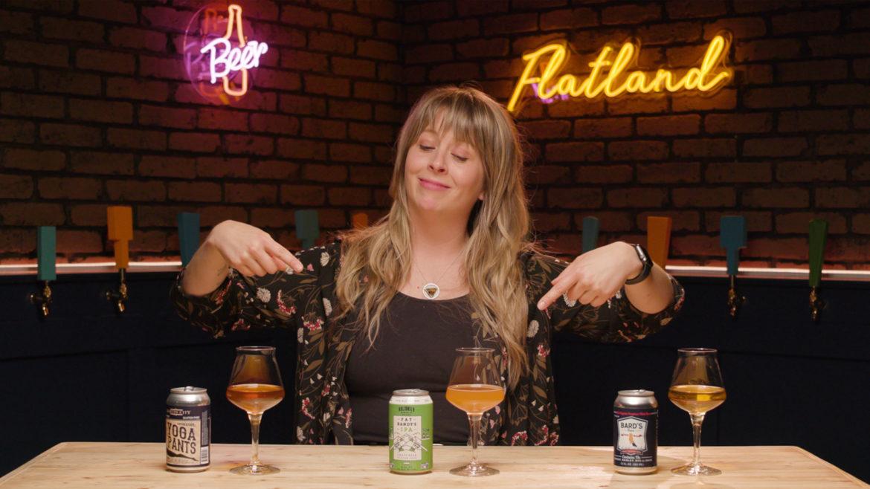 Flatland beer enthusiast Cassie Niemeyer taste tests three gluten-free beers.