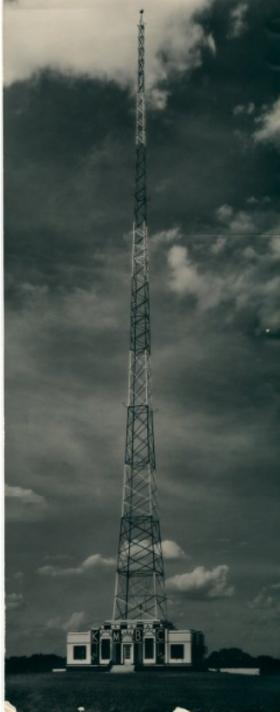 KMBC transmitter at 50th Street and Belinder Avenue in Westwood.