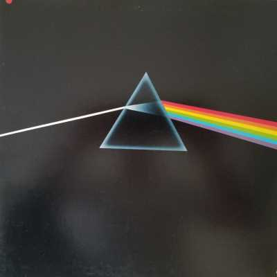 """The cover of Pink Floyd's """"Dark Side of the Moon."""""""