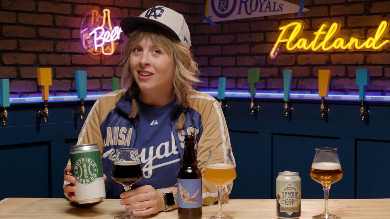 Beer enthusiast Cassie Niemeyer taste tests baseball beers for Tap List.