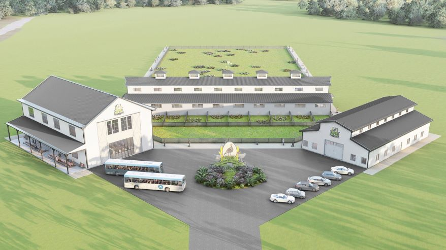 The founders of Good Shepherd Conservancy plan to model the conservation center on the Stone Barns Center for Food and Agriculture in New York.