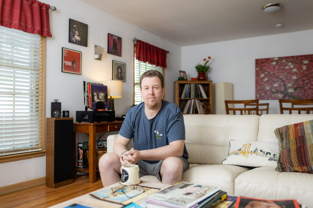 Brandon Smith bought his home last September in a neighborhood north of the Missouri River. He's experienced the ups and downs of the current housing market in Kansas City.