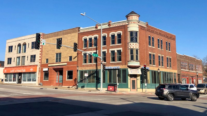 The northeast corner of 31st and Main streets where the 115-year-old Jeserich building is located has been acquired along the streetcar extension route. Preservationists believe incentives are vital to retain historic structures along the route.