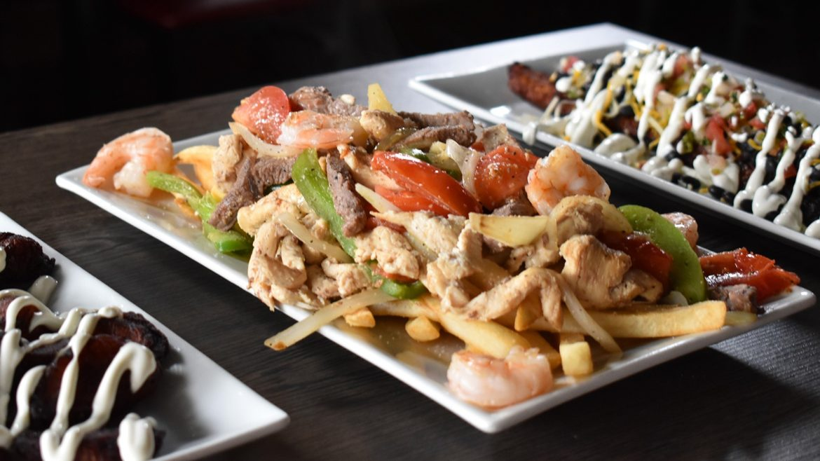 Sabor Latino's menu features items from across Latin America.