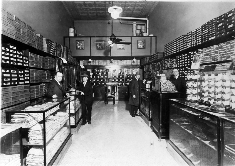 Although their downtown Kansas City haberdashery failed in the early 1920s, Harry Truman and Eddie Jacobson remained steadfast friends.
