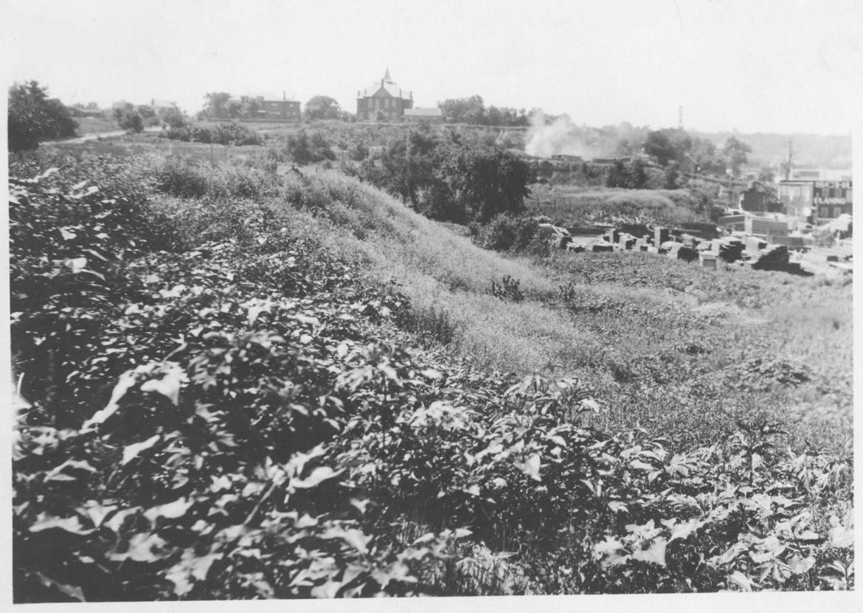 An image of brick kilns in Kansas City.