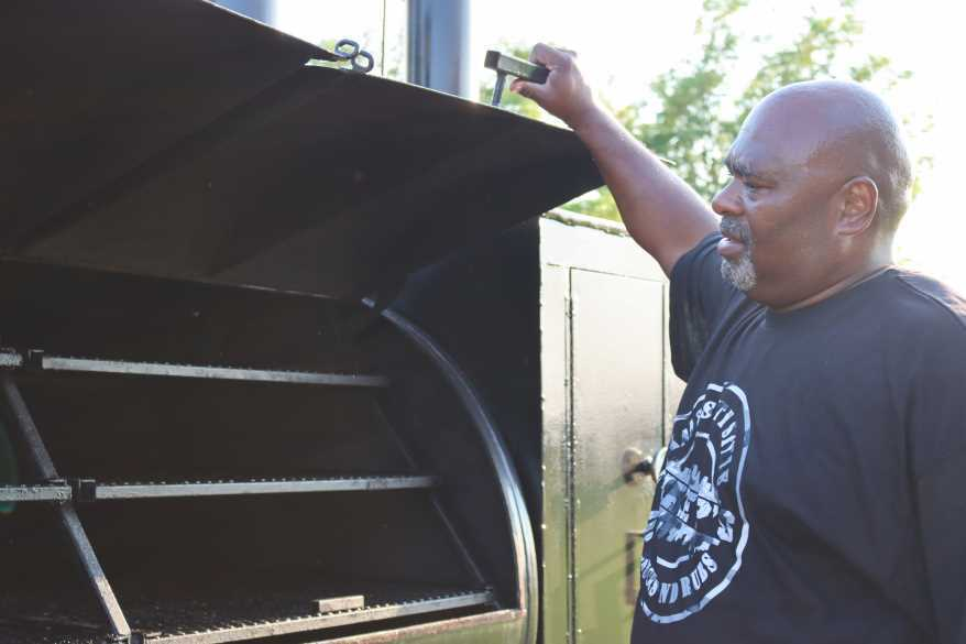 Mike Powell is happy to finally have the space he needs to run his barbeque and dry rub business from his property in Odessa.