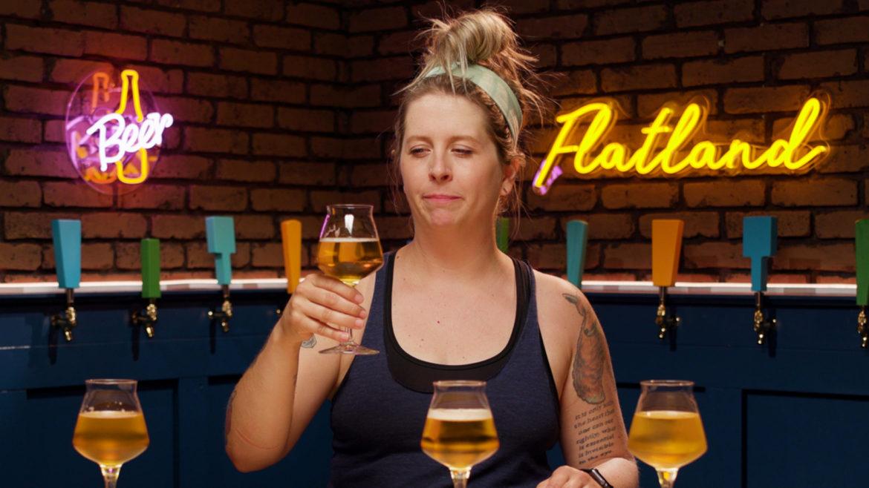 Tap List beer enthusiast Cassie Niemeyer taste tests yard beers.