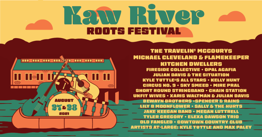 The Kaw River Roots Festival two-day lineup.