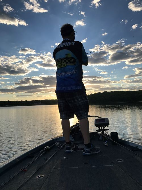 Dusk and night can be a good time to catch big bass in the heat of summer.