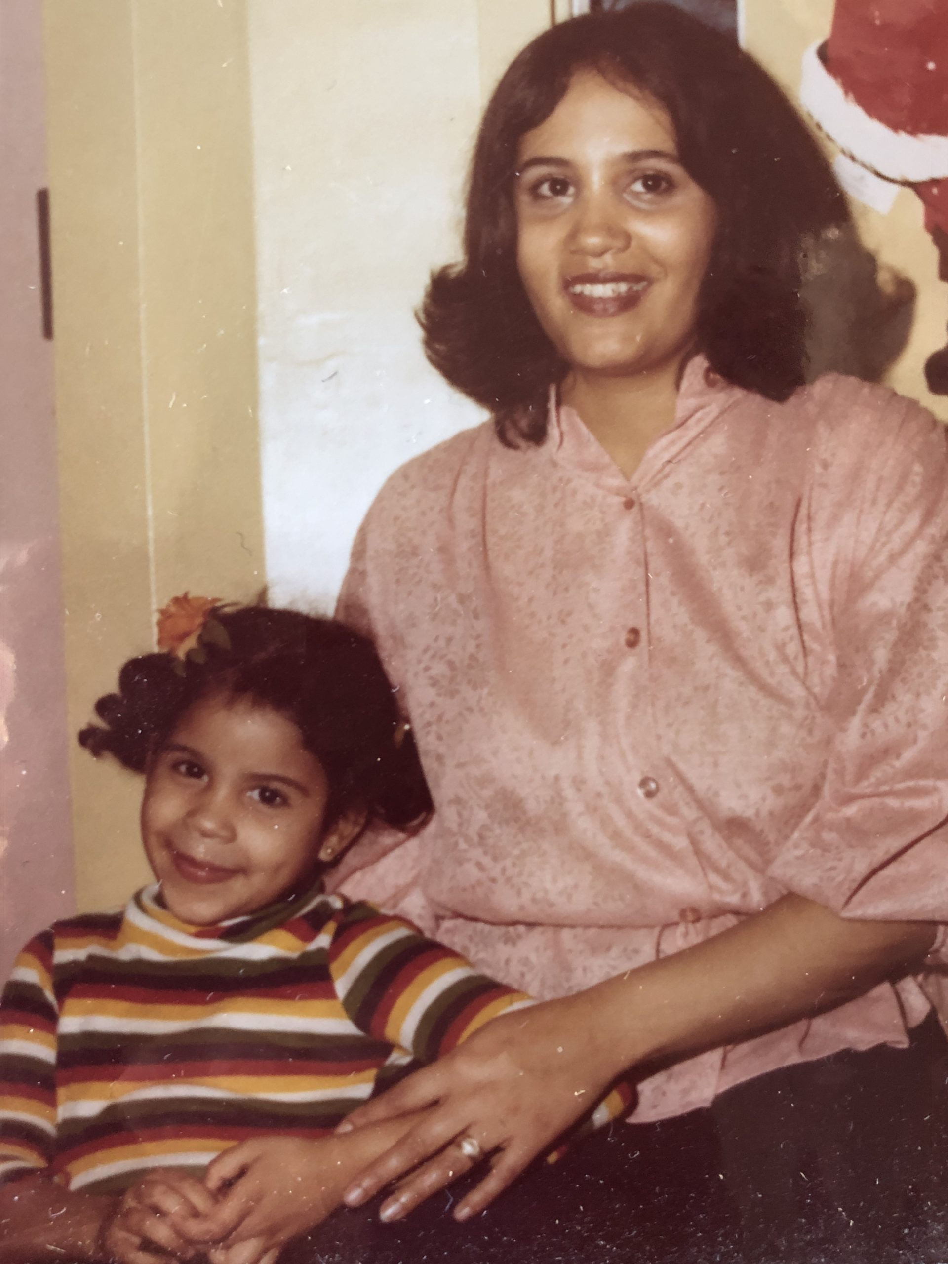 Joann Quiñones and her mother. (Contributed)