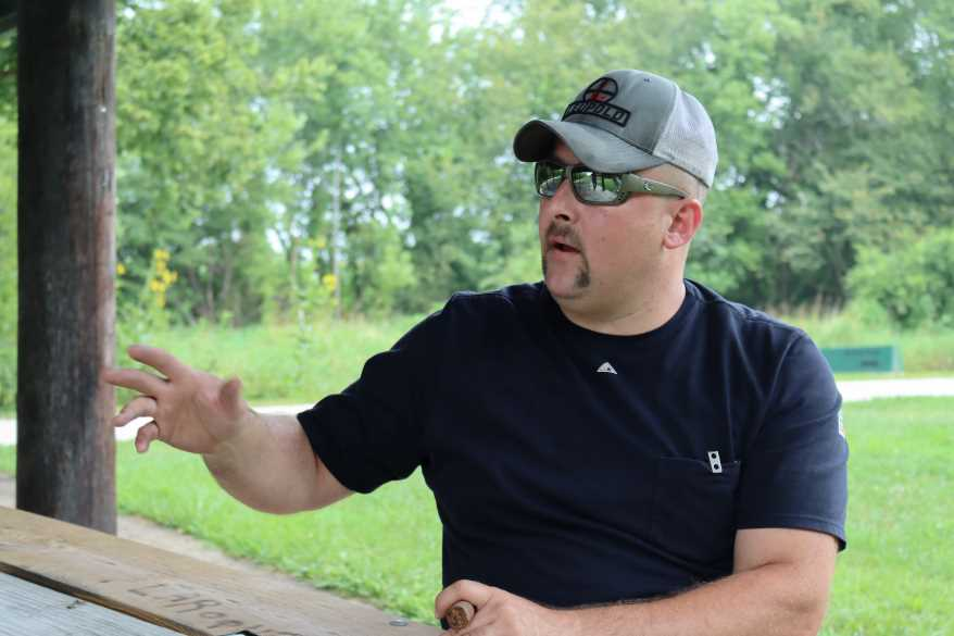 Ryan Waddell has more than 17 years of experience at Lake City Army Ammunition Plant and knows the machines inside and out.