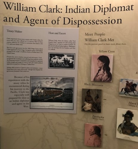 Displays at the Fort Osage National Historic Landmark near Sibley in northeastern Jackson County are candid about explorer William Clark's actions at the fort on the early 1800s and their effect on the Osage Indian nation.