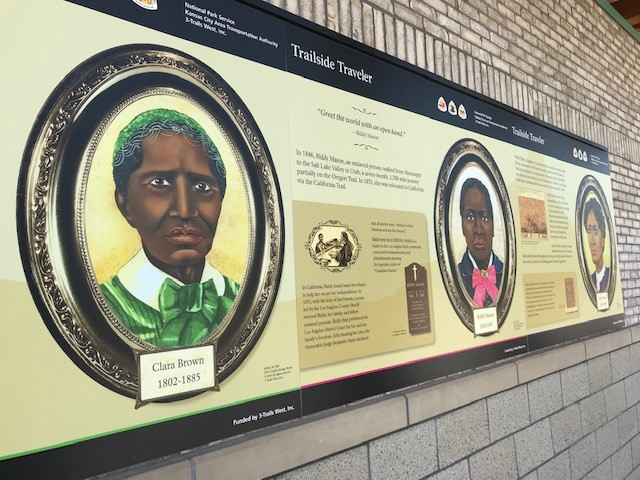 Evidence of Missouri's slavery legacy can be found beyond area archives and libraries. These portraits of three once-enslaved women can be found at the 3-Trails Transit Center at 9449 Blue Ridge Blvd., dedicated in south Kansas City In 2018.