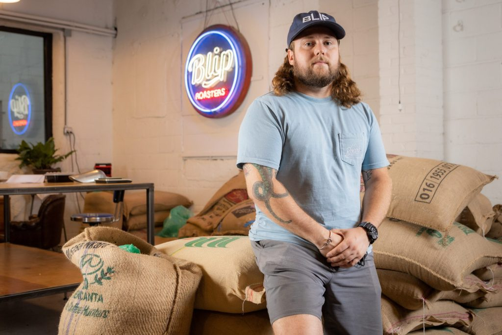 Ian Davis is the owner of Blip, a coffee shop in Kansas City's West Bottoms. Blip received a grant from the Restaurant Revitalization Fund that helped with reopening and hiring more staff.