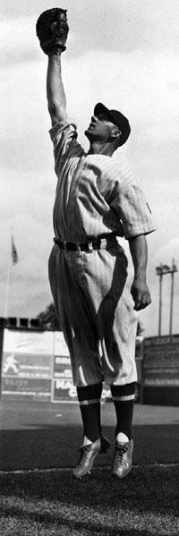 Kansas City Blues first baseman Joe Kuhel, Junior World Series Champion, 1929.