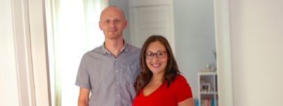Career disruptions caused by the COVID-19 pandemic turned Birdie Hansen and her husband, David, into accidental entrepreneurs. They're now leaning into a fledgling candle-making business.