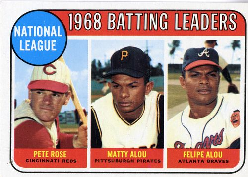 Pictured here are the Dominican brothers, center and far right, Matty and Felipe Alou.