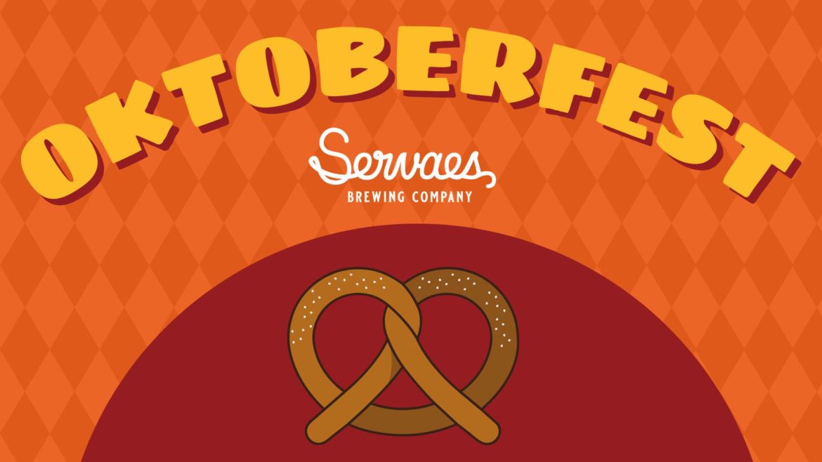 Servaes Brewing Co. is one of several local breweries hosting Oktoberfest celebrations this weekend.