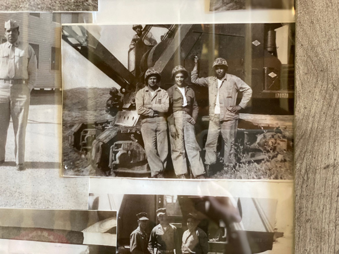 """Tony Moreno, pictured here while in Hawaii, where he worked as a crane operator on the set of """"South Pacific."""" (Vicky Diaz-Camacho 