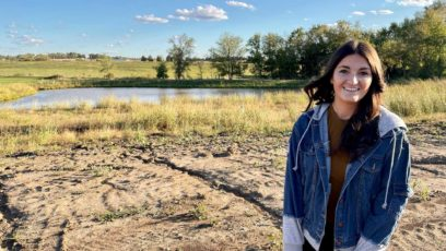 Ally Garton and her fiancé are building a house in Basehor, Kansas.