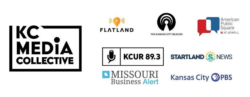 KC Media Collective member logos.